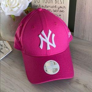 New!! New York Yankee Hat : Hot Pink